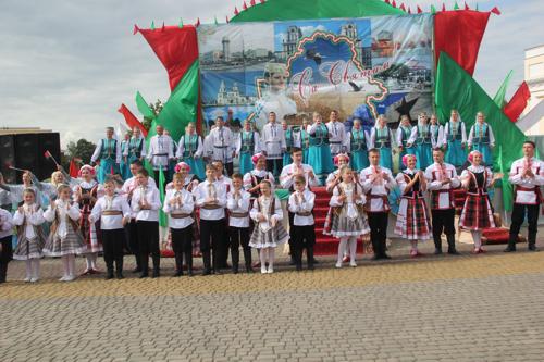 Шануйце дзіва на планеце – святую нашу Беларусь