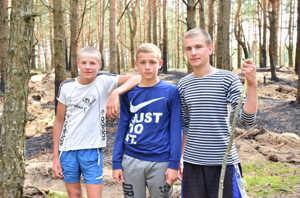 Смельчаки спасли лес